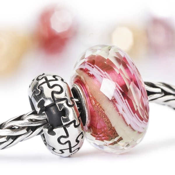 Trollbeads - Flow of Love Set + free Puzzle