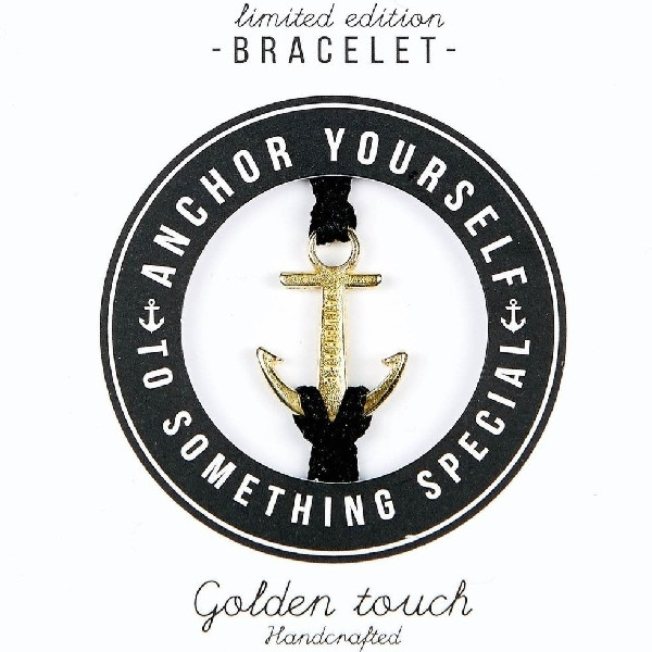 Sailbrace - Bracelet - Golden Touch Black