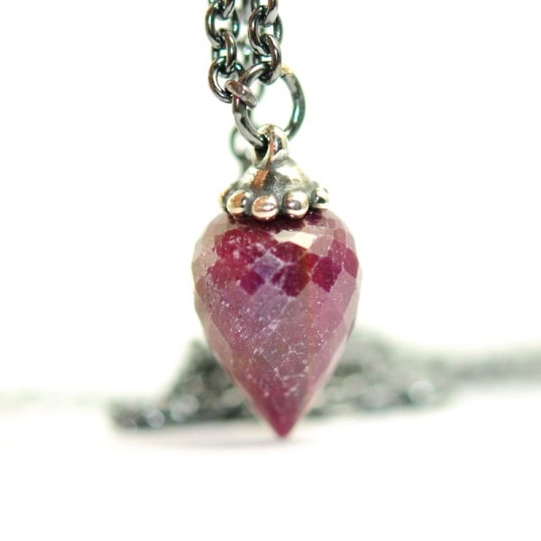 Trollbeads - Fantasy Necklace with Ruby - 90cm