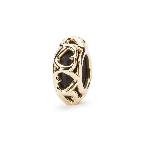 Trollbeads - Liebes Spacer, gold