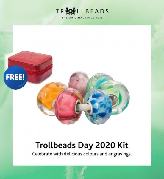 Trollbeads Day 2020 Kit - Limited Edition & free Box