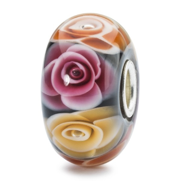 Trollbeads - Limited Edition - Roses for Mom Bead / Rosen für Mutter