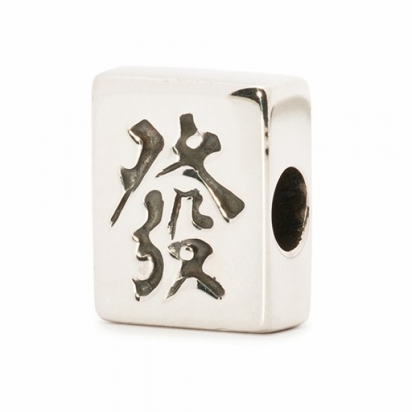 "Trollbeads - World Tour - Hong Kong - Mahjong ""Fortune"""