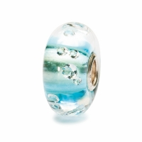 Trollbeads - The Diamond Bead Ice blue